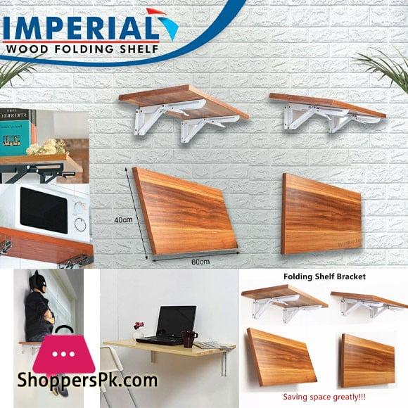 Imperial wood Folding Shelf