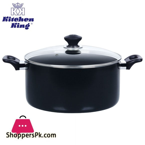Kitchen King Lumina Casserole with Glass Lid 6.5 Liter – 26cm