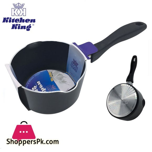 Kitchen King Non Stick Milk Pan 0.8 Liter - 13cm