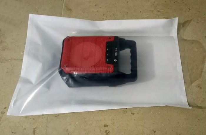 Transparent Courier Flyer Bag – 100 Peaces 14×18 Inch