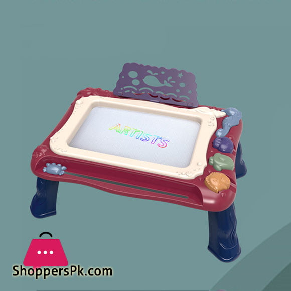 2 in 1 Magnetic Drawing Board Desk