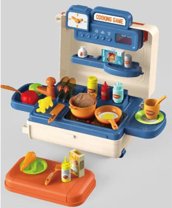 4 in 1 Mobile Kitchen Set Trolley Case