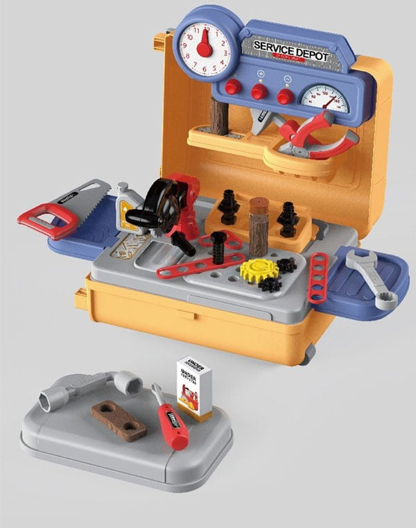 4 in 1 Mobile Tool Table Trolley Case