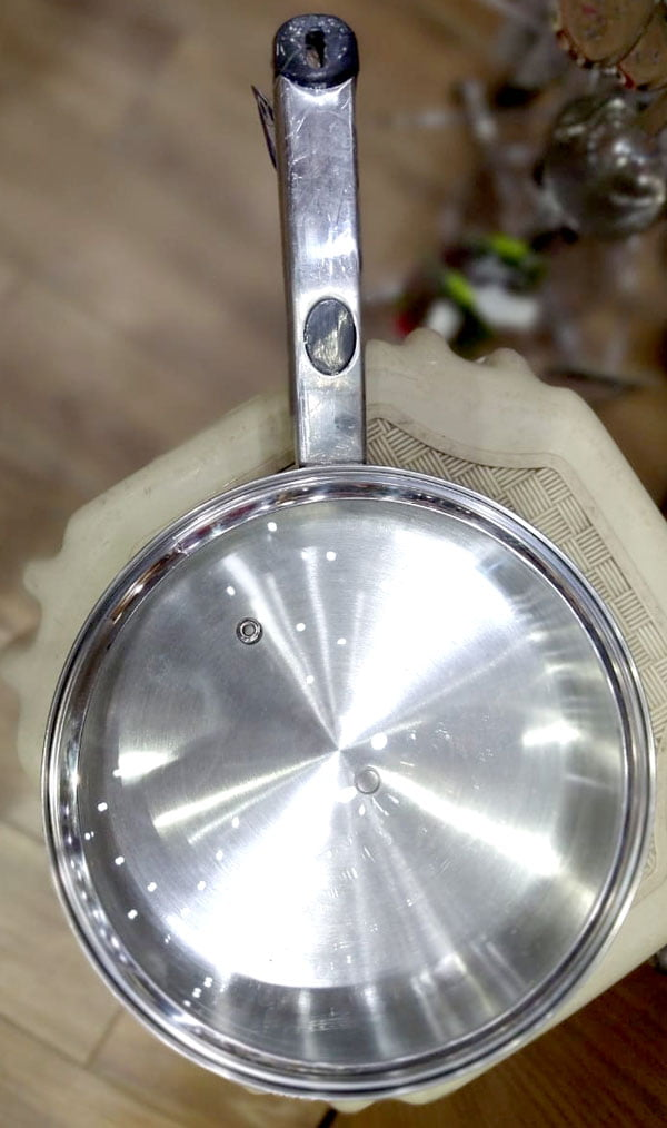 Alpha Stainless Steel Frypan 22 CM