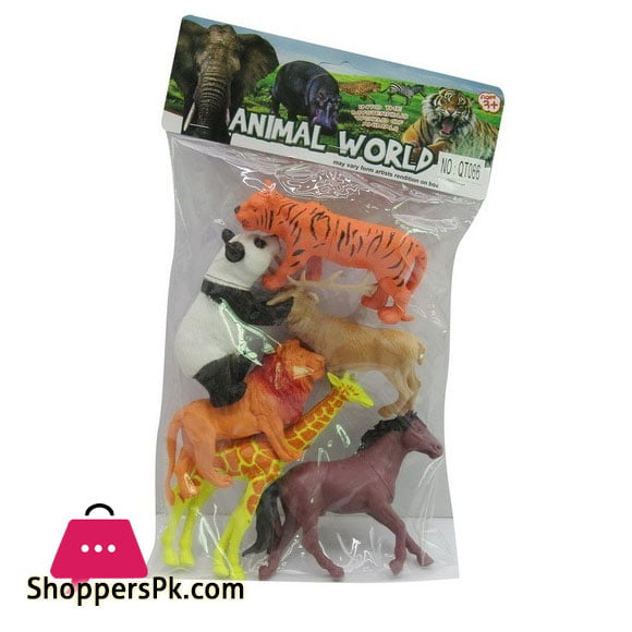Animal Kingdom 6 Piece Animal Set For Kid