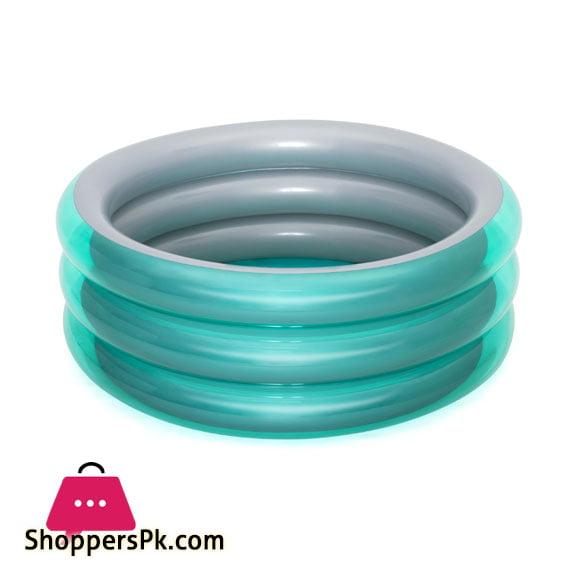 Bestway Big Metallic 3-Ring Pool - 51041