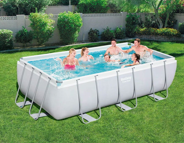 Bestway Ground Pool Rectangular Power-56670