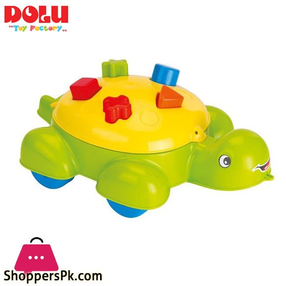 Dolu Turtle Shape Sorter 5 Pcs Musical Toy Turkey – 6016