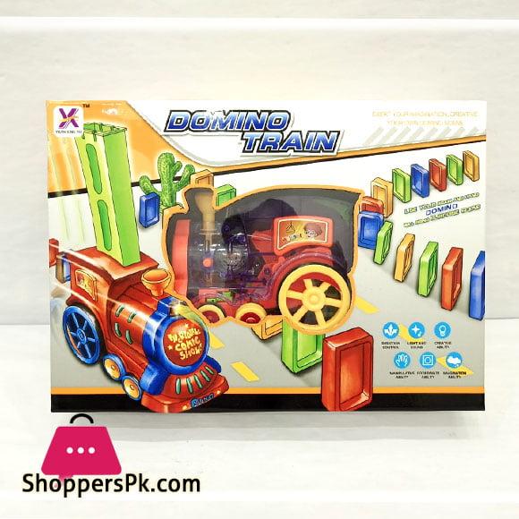 Domino Train Set