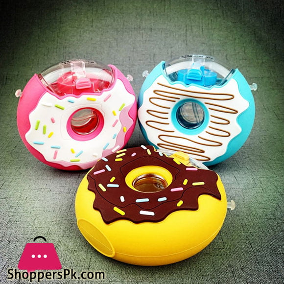 Donut Shaped Canteen Bottle For Water 380ml