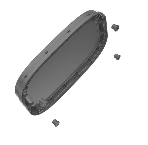 Eko Oli-Cube Open Top Bin 6 Liter Silver (EK9036-6L)