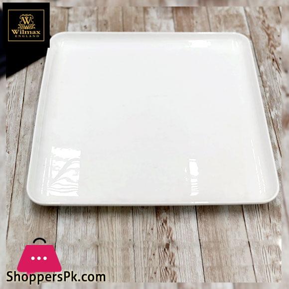 Wilmax Fine Porcelain Dish 10.75 x 10.75 Inch WL-992682 / A