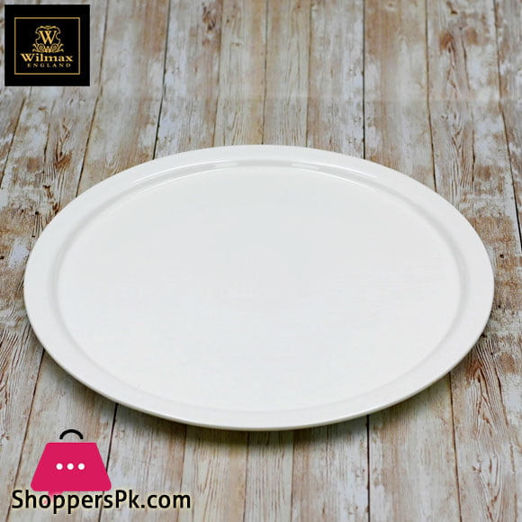 Wilmax Fine Porcelain Pizza Plate 14 Inch WL-992618 / A