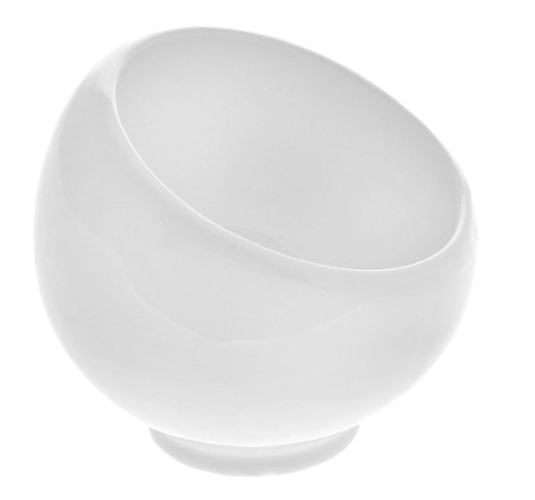 Fine Porcelain Sugar/Dessert Bowl 3.5 x 3.5 Inch WL-995000 / A