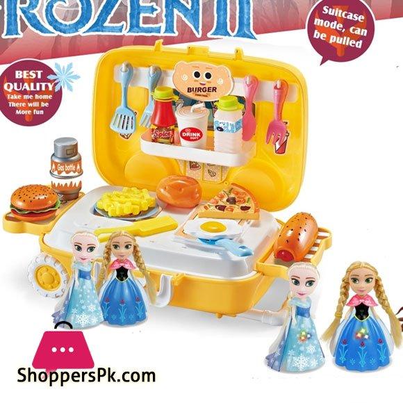 Frozen 2 Suitcase Kitchen Set