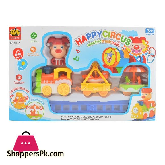 Happy Circus Electric Track Train