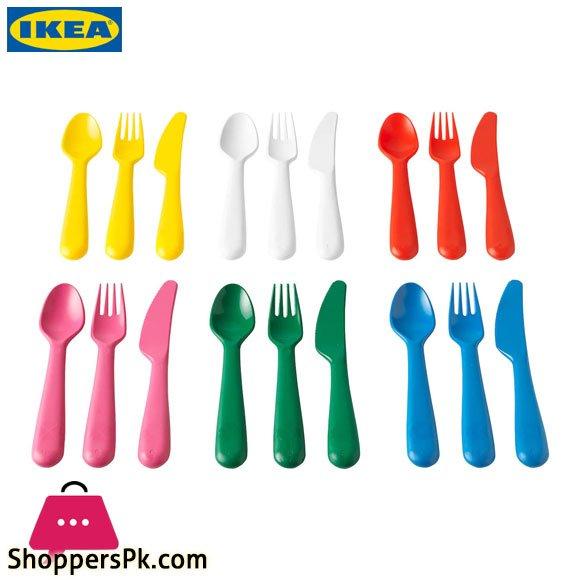 Ikea KALAS Kids Cutlery