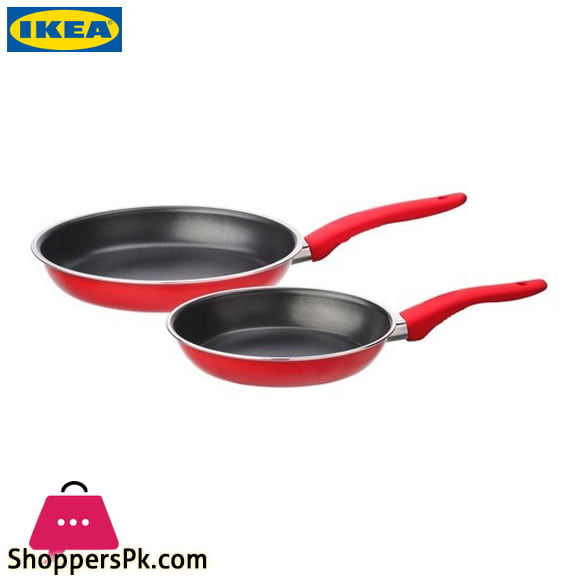 Ikea KAVALKAD Frying Pan Set of 2