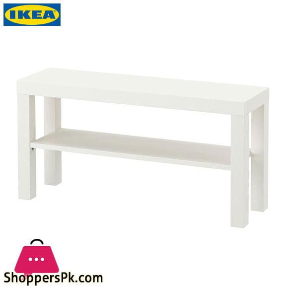 Ikea LACK TV Bench – White