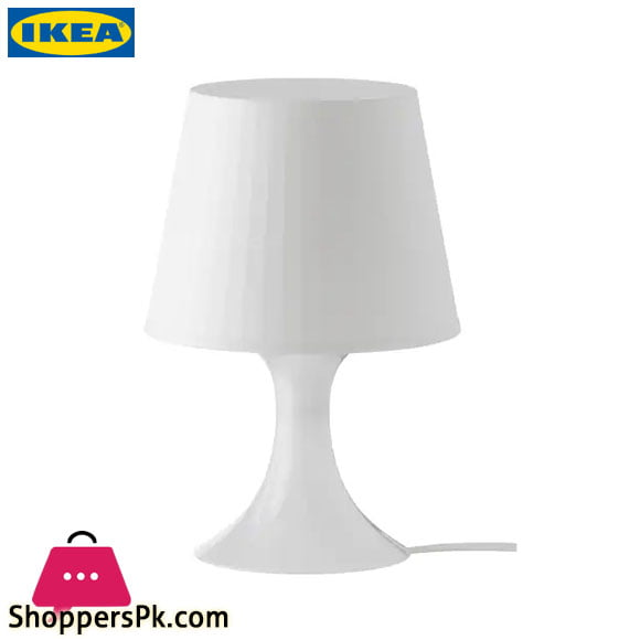 Ikea LAMPAN Table Lamp White