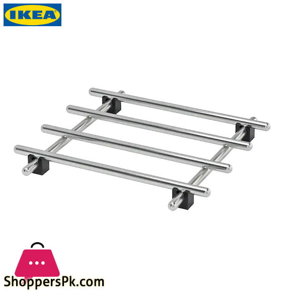 Ikea LAMPLIG Stainless Steel Pot Stand