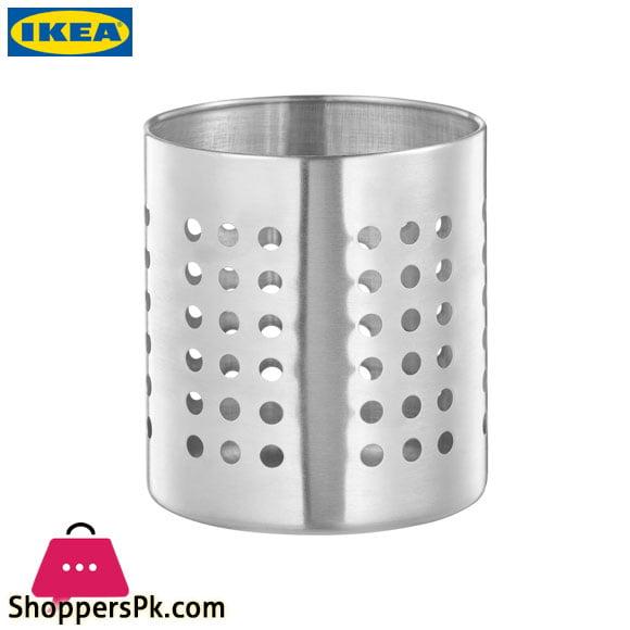 Ikea ORDNING Stainless Steel Cutlery Holder
