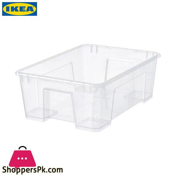 Ikea SAMLA Transparent Box