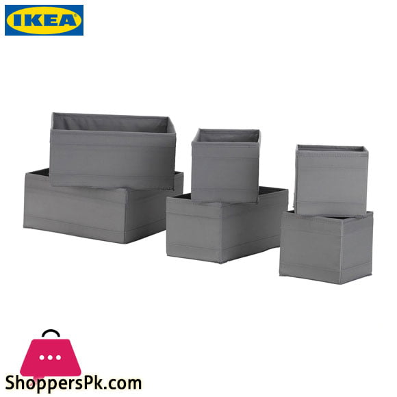 Ikea SKUBB – Set of 6, Storage Organiser
