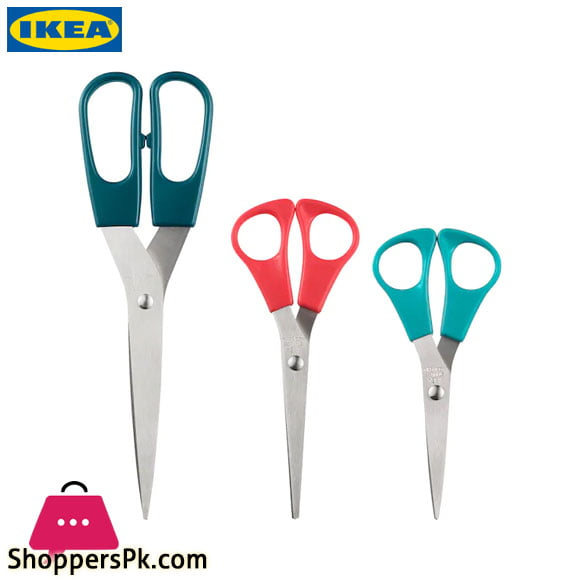 Ikea TROJKA Scissors Set of 3