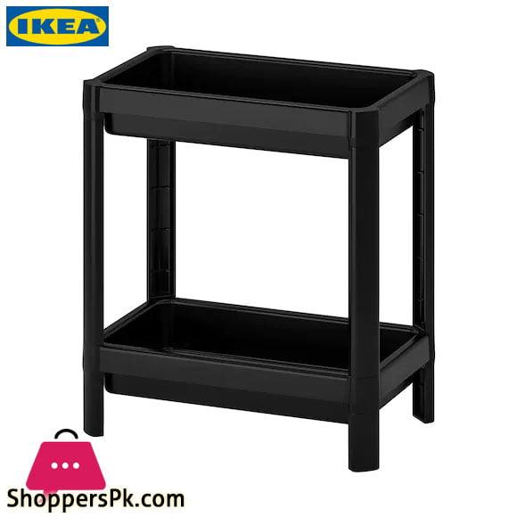 Ikea VESKEN Shelf White- 2 Tier