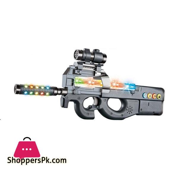 Imitate True Light Gun Toy