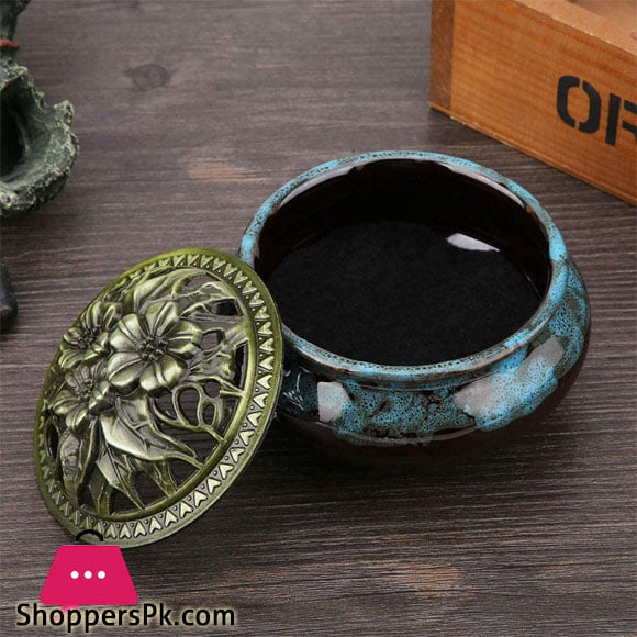 Incense Burner, Anti-Corrosion Fadeless Meditation for Home Decoration Craft Ornament