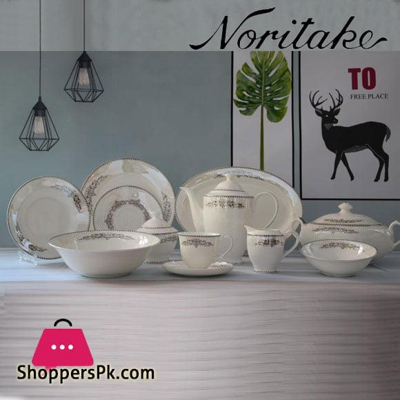 Noritake Super Bone Royal 61 Pcs Dinner Set 8 Person Serving
