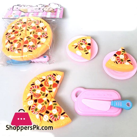PVC Pizza Cutting Set For Kid