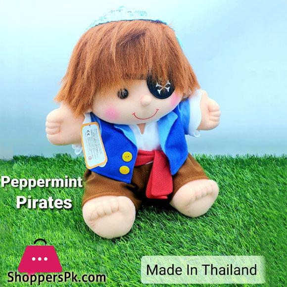 Peppermint Pirates Plush Doll 35 CM - Thailand Made