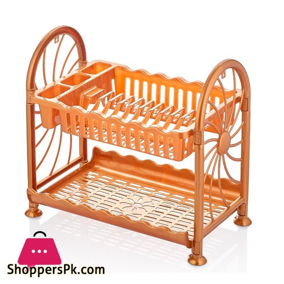 Folded Plate Rack Plastic