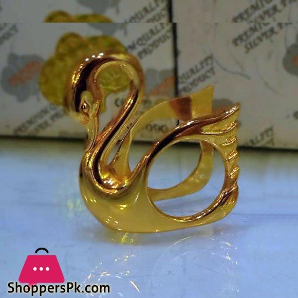 Plated Napkin Rings Swan