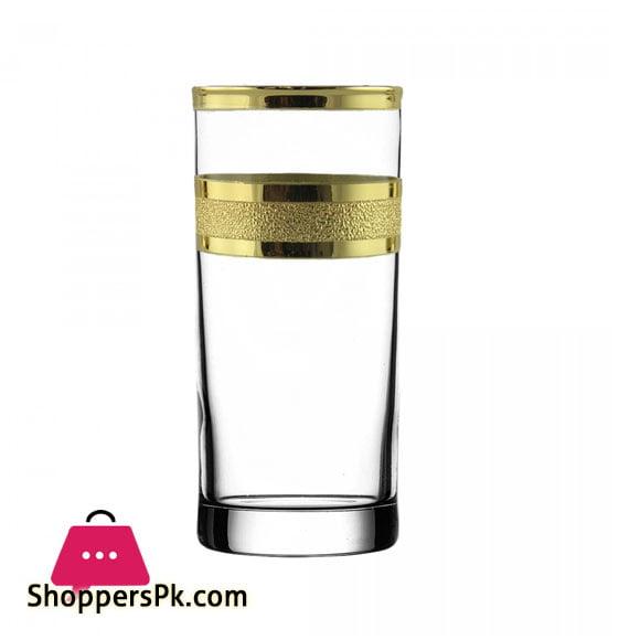"Promsiz Cocktail Glasses 6 Piece With ""Ultra"" Pattern (KAV24-402 / S)"