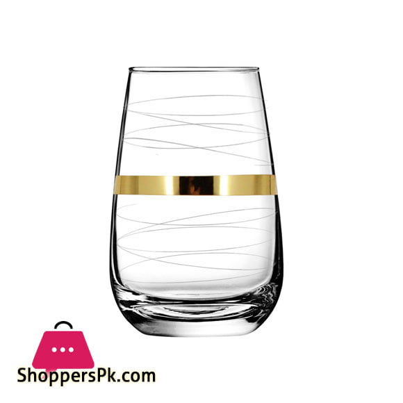 "Promsiz Cocktail Glasses 6 Piece With ""Ultra"" Line Pattern EAV95-2069/S"