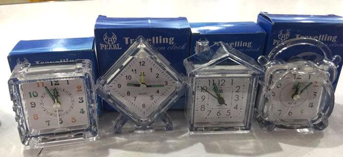 Quartz Pearl Alarm Clock