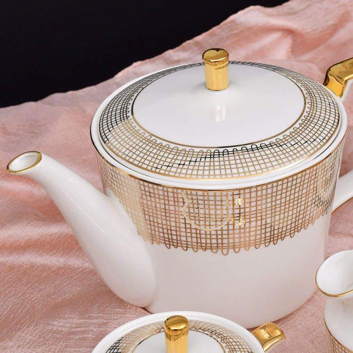 Royal Artistic Pattern Tea Set-15 Pcs