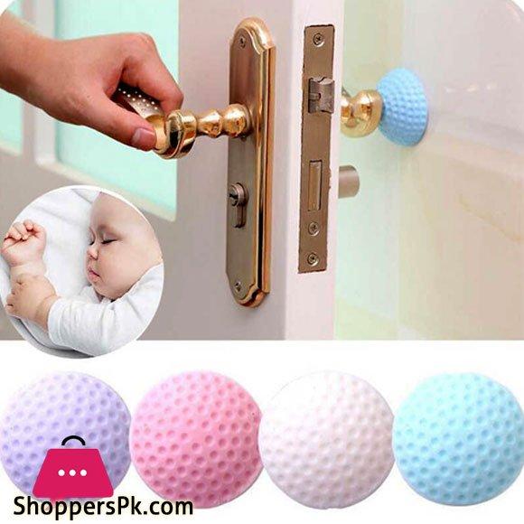 Rubber Door Buffer Wall Protector- Door Handle Bumpers for Door Stop 1 Pcs
