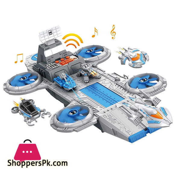 Spaceship For Your Space War - Space Union - With 6 Sounds, 5 Ships