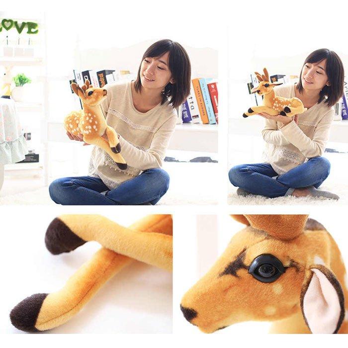 Stuffed Plush Toy Animal Deer Toy Children Doll ( 40 CM )