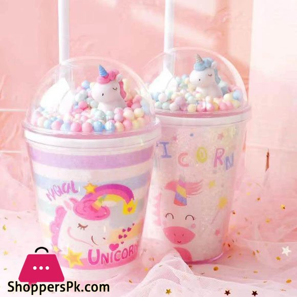 Unicorn Sipper With Straw 2823
