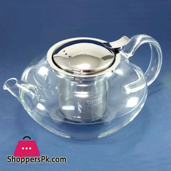 Wilmax England Thermo Glass Tea Pot 650 ML