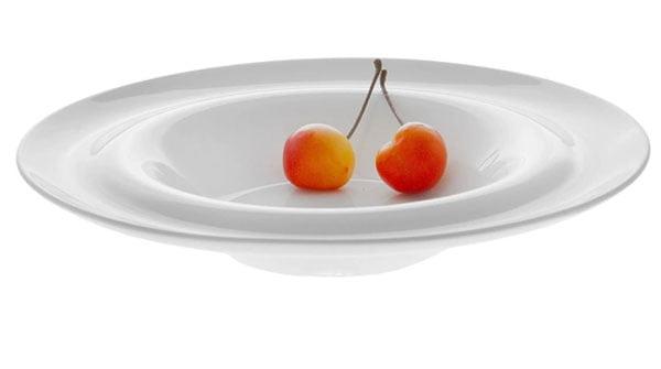 Wilmax Fine Porcelain Deep Plate 9 Inch WL-991022 / A