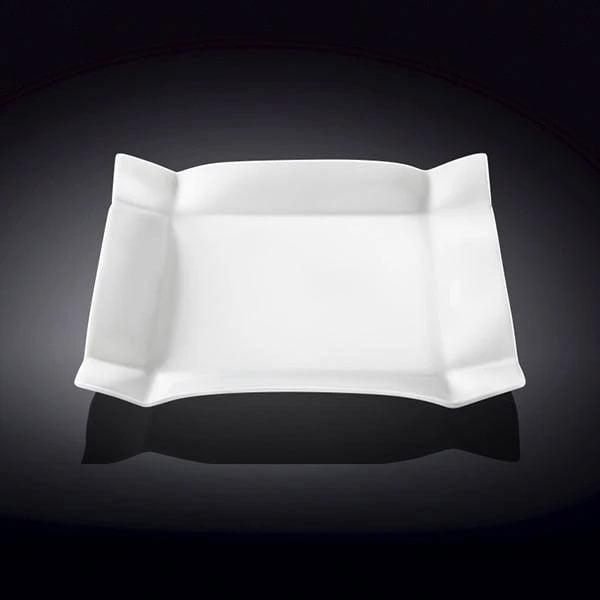 Wilmax Fine Porcelain Dessert Plate 8 x 8 Inch WL-991231 / A