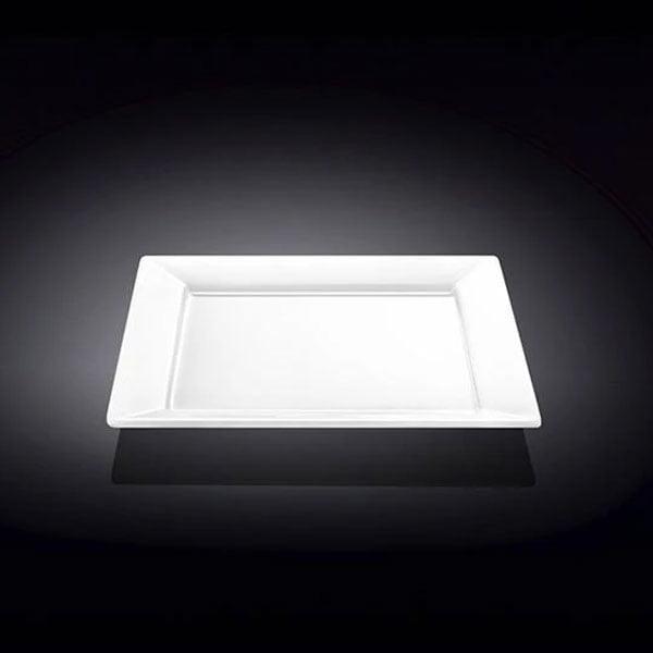 Wilmax Fine Porcelain Dessert Plate 7.5 x 7.5 Inch - WL-991222 / A