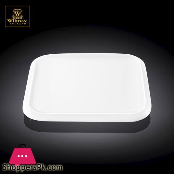 Wilmax Fine Porcelain Dessert Plate 8 x 8 Inch - WL-991227 / A
